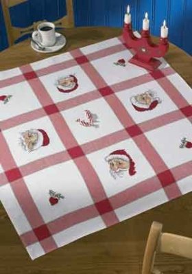 Permin Kits440522 ~ Christmas Tablecloth ~ Aida