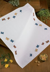 Permin Kits441366 ~ Butterfly Tablecloth ~ Aida