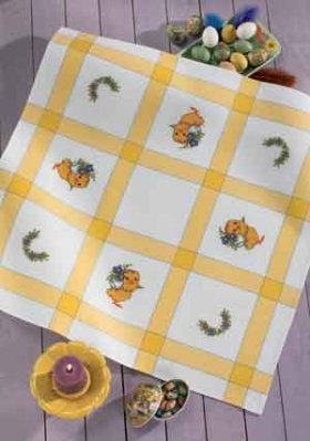 Permin Kits449561 ~ Easter Tablecloth ~ Aida