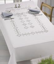 Permin Kits582765 ~ Hardanger Tablecloth