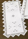 Permin Kits631701 ~ Hardanger Tablerunner ~ 22 count Hardanger