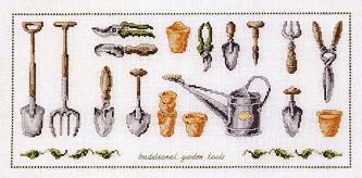 Permin Kits708432 ~ Tools ~ 26 count Linen