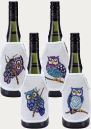 Permin Kits783824 ~ Owls Wine Aprons