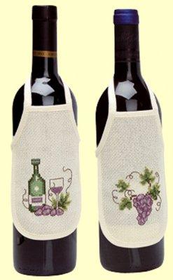 Permin Kits786596 ~ Wine Bottle Aprons