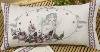 Permin Kits830914 ~ Angel Pillow ~ 11 count Aida