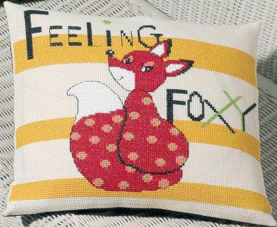 Permin Kits0834324 ~ Feeling Foxy ~ 8 count Aida