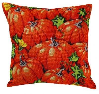 Permin Kits835137 ~ Pumpkin Pillow ~ Canvas