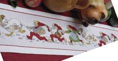 Permin Kits921598 ~ Pixie Parade Tablerunner ~ 14 count Aida