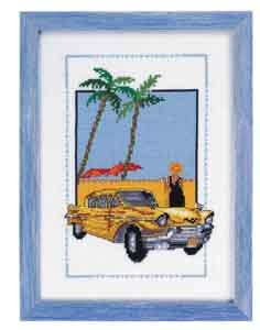 Permin Kits928125 ~ Antique Car ~ Aida