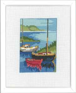 Permin Kits929162 ~ Harbour ~ 14 count Aida