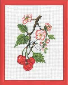 Permin Kits929165 ~ Cherries ~ 14 count Aida