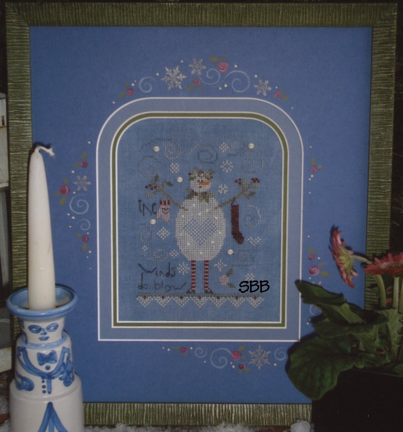 Shepherd's Bush Kit Blue Snowman