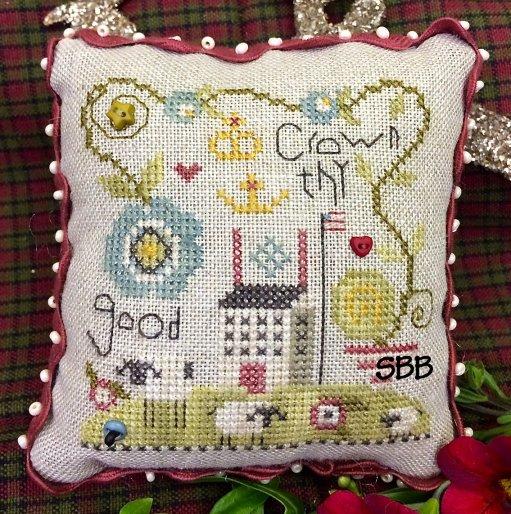 Shepherd's Bush Kits Crown Thy Good Pincushion