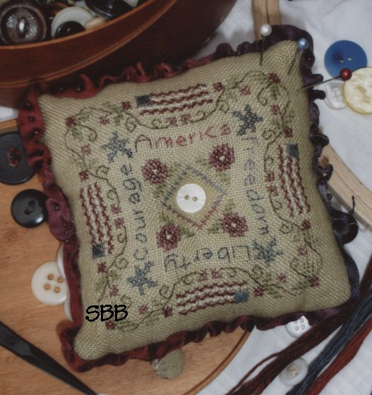 Shepherd's Bush Kit Liberty Pincushion