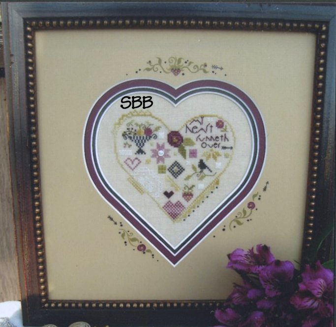 Shepherd's Bush Kits Quaker Heart