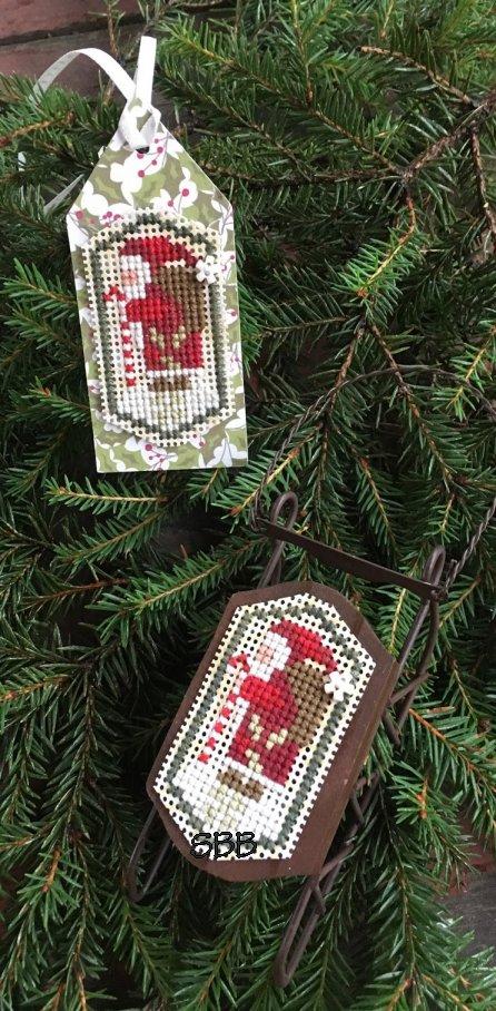 Shepherd's Bush Kits Santa Tag