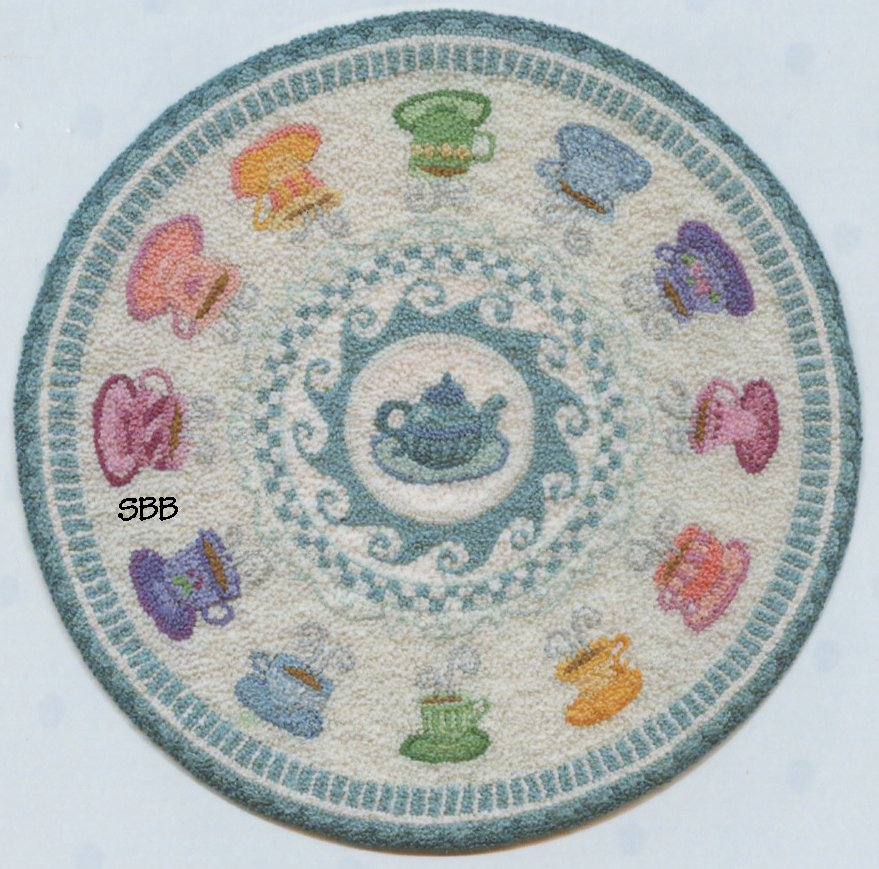 Teresa Layman Designs  All The Tea In China Miniature Knotwork