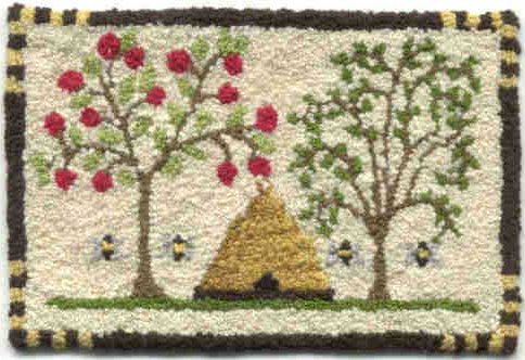 Teresa Layman Designs Bees & Trees Miniature Knotwork