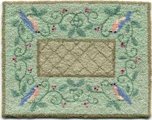 Teresa Layman Designs Birds & Berries Miniature Knotwork
