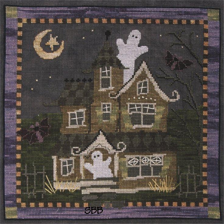 Teresa Layman Designs EEEK! Cross Stitch