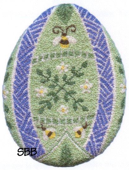 Teresa Layman Designs Egg Anya Miniature Knotwork
