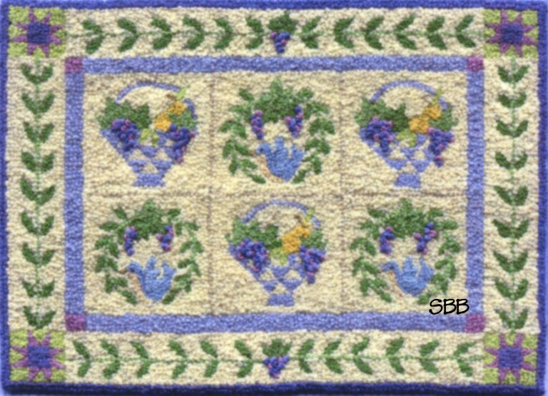Teresa Layman Designs Grape Baskets Miniature Knotwork
