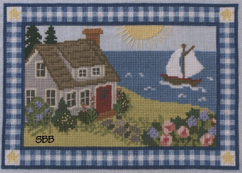 Teresa Layman Designs My Cottage By The Sea Cross Stitch