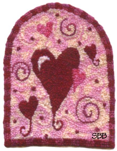 Teresa Layman Designs My Valentine Miniature Knotwork