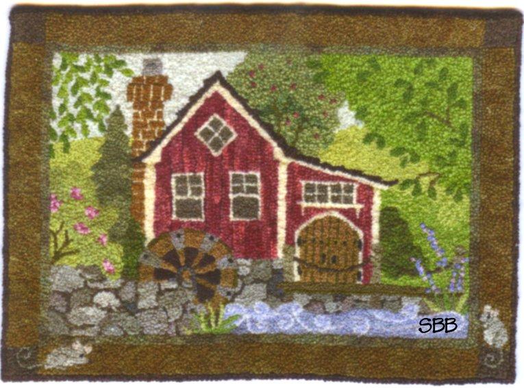 Teresa Layman Designs The Old Mill Miniature Knotwork