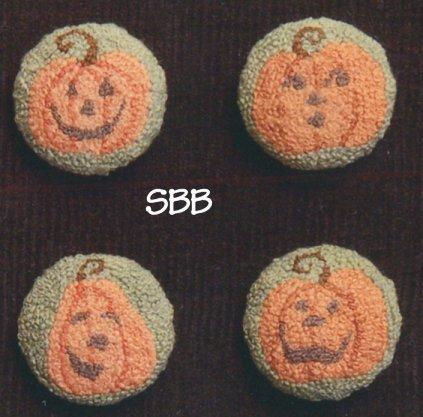 Teresa Layman Designs Pumpkin Buttons Miniature Knotwork