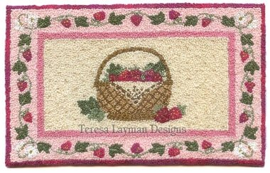 Teresa Layman Designs  Strawberry Basket Miniature Knotwork