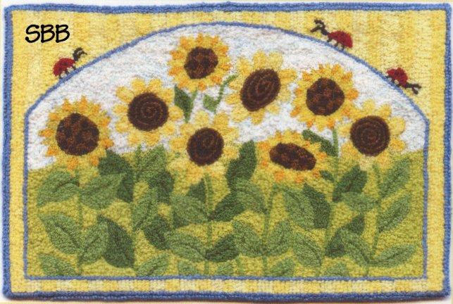 Teresa Layman Designs Sunny Flowers Miniature Knotwork