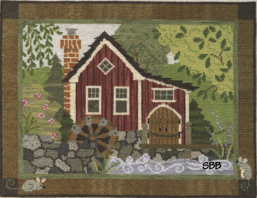 Teresa Layman Designs Kits The Old Mill Cross Stitch