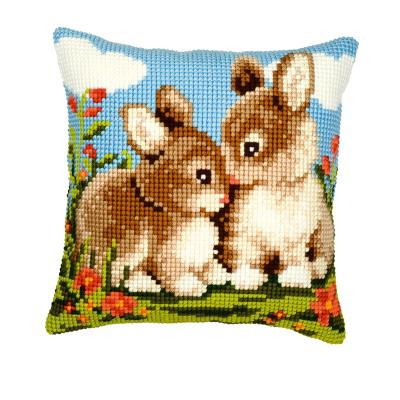 Vervaco Kits PNV8692 Bunnies Cushion