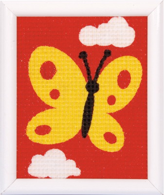 Vervaco Kits PNV9581 Yellow Butterfly