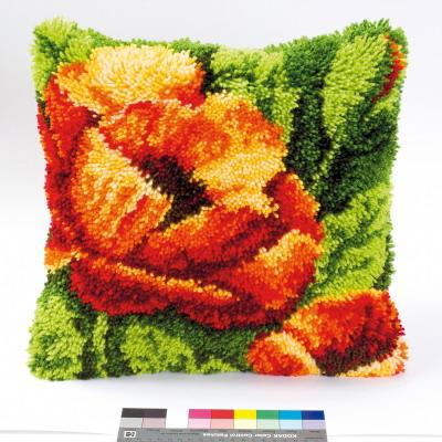 Vervaco Kits PNV14175 Orange Poppy Latch Hook