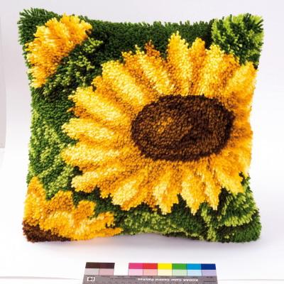 Vervaco Kits PNV14176 Sunflowers Latch Hook Cushion