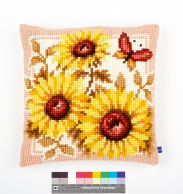 Vervaco Kits PNV147040 Sunflowers Cushion