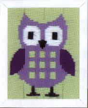 Vervaco Kits PNV147442 Purple Owl