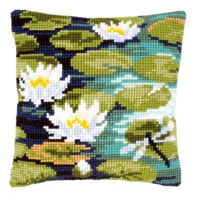 Vervaco Kits PNV148217 Water Lilies Cushion
