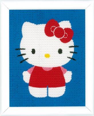 Vervaco Kits PNV148997 Hello Kitty Canvas