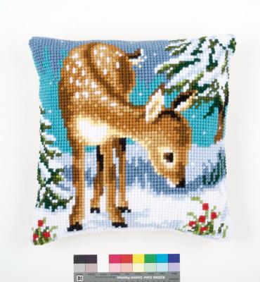 Vervaco Kits PNV149147 Little Deer Cushion