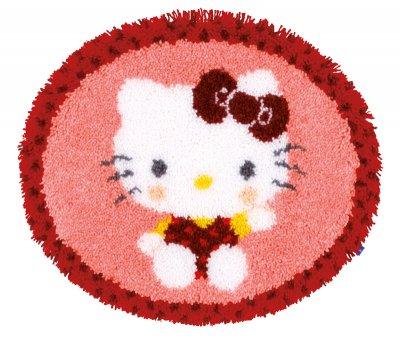 Vervaco Kits PNV154948 Hello Kitty Bakery Latch Hook Rug