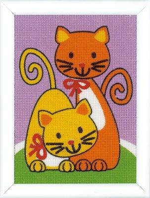 Vervaco Kits PNV155678 Playing Cats