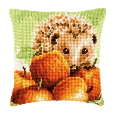 Vervaco Kits PNV155865 Hedgehog with Apples Cushion