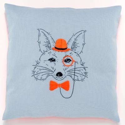 Vervaco Kits PNV156060 Fox With Orange Hat/Bowtie