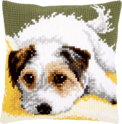 Vervaco Kits PNV156600 Dog Wagging Its Tail Cushion
