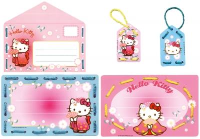 Vervaco Kits PNV161851 Hello Kitty Embroidery Invitation Asia