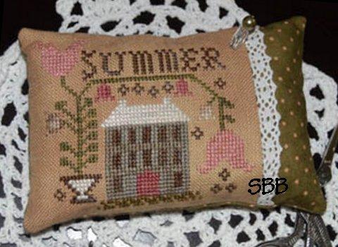 Abby Rose Designs A Summer Pin Pillow