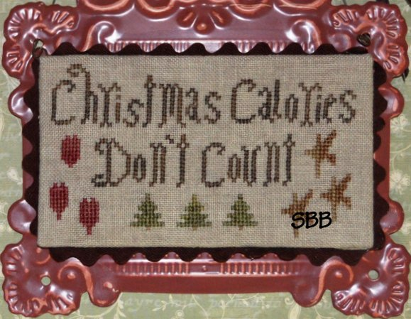 Abby Rose Designs Christmas Calories Don't Count